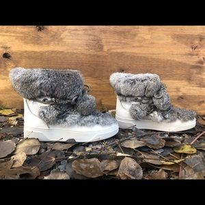 MICHAEL KORS Optic White Nala Boots
